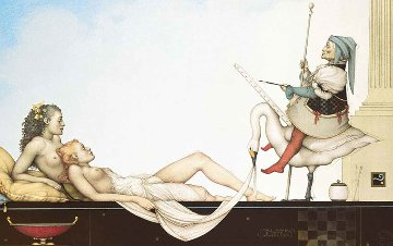 Court Painter 2002 Limited Edition Print - Michael Parkes