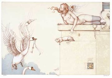 Key 2002 Limited Edition Print - Michael Parkes