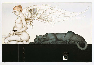 Waiting 2001 Limited Edition Print - Michael Parkes