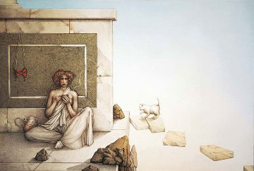 Mask 1996 Limited Edition Print - Michael Parkes