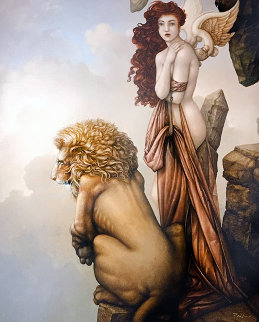 Last Lion 2015 Limited Edition Print - Michael Parkes