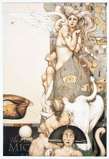 Angel That Tops Time 1992 Limited Edition Print - Michael Parkes