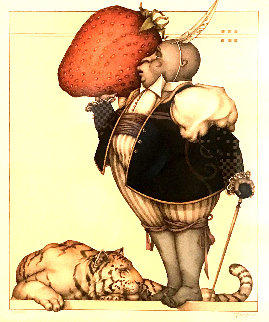 Strawberry Collector 2004 Limited Edition Print - Michael Parkes