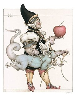 Dragon Collector 2003 Limited Edition Print - Michael Parkes