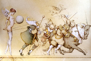 Returning the Sphere AP 1991 Limited Edition Print - Michael Parkes