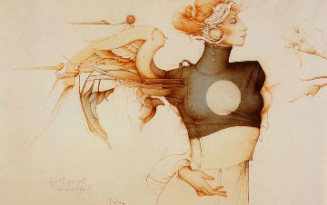Angel Experiment Limited Edition Print - Michael Parkes