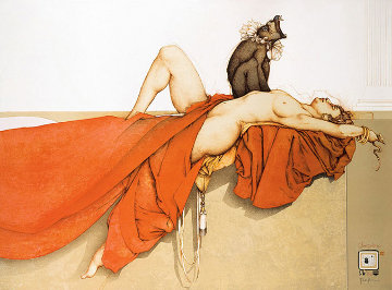 Cleopatra 1990 Limited Edition Print - Michael Parkes