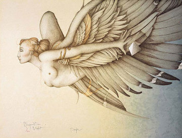 Beyond The Night 1989 Limited Edition Print - Michael Parkes