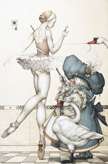Ballet Mistress Limited Edition Print - Michael Parkes
