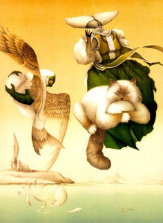 Broken Promises Limited Edition Print - Michael Parkes