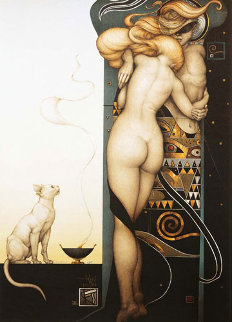 Night and Day (Night and Day) Limited Edition Print - Michael Parkes