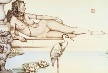 Oasis Limited Edition Print - Michael Parkes