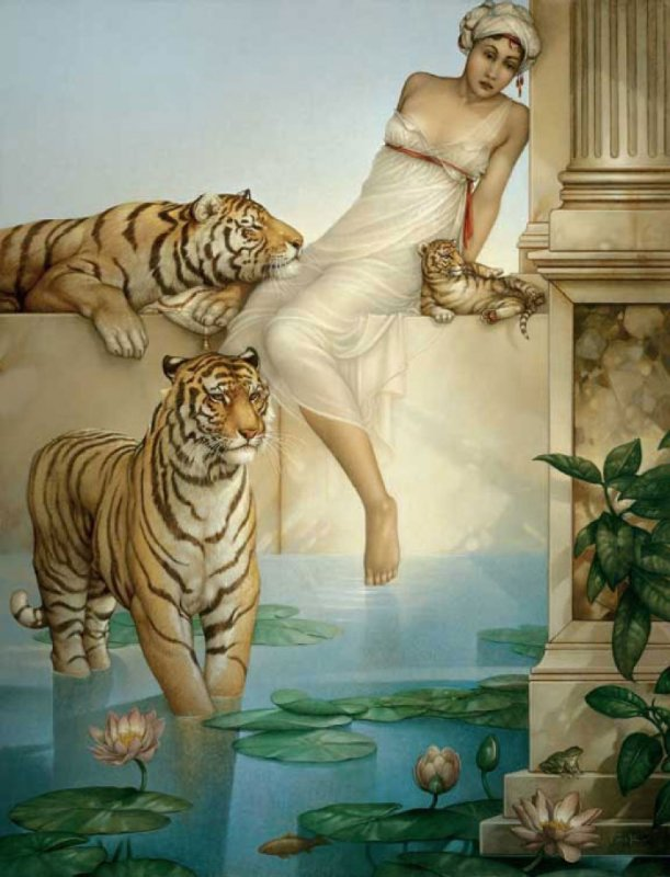Fresh Designing the Sphinx by Michael Parkes AK92
