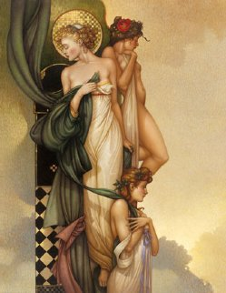 Three Graces 2005 Limited Edition Print - Michael Parkes