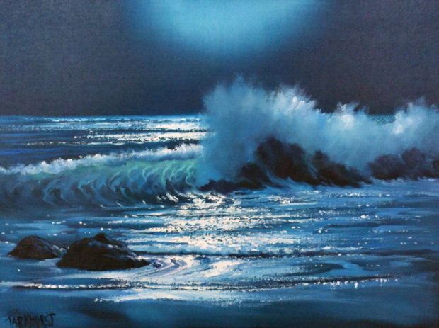 Malibu Moonlight, California 1981 18x24