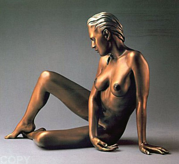 Timeless Innocence Nude Sculpture AP  1986