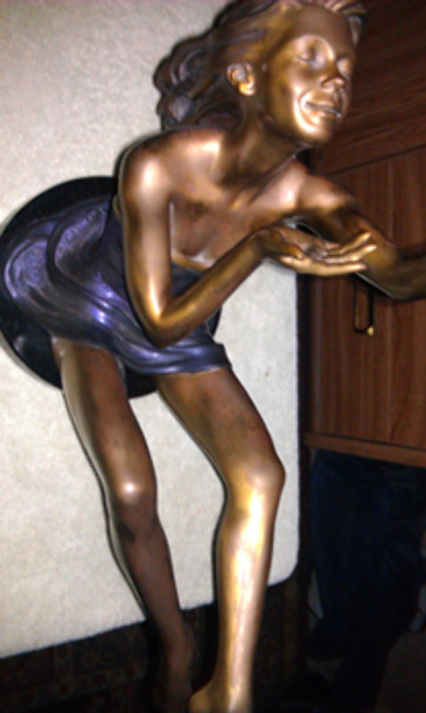 Elation Bronze Sculpture 2000 26 in