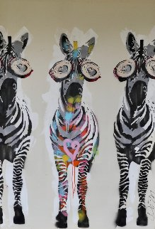 Stand Out Stand Proud 2014 64x46 Original Painting - Dom Pattinson