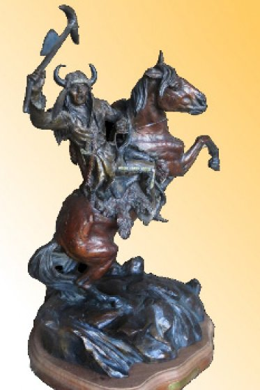 Decoy Bronze Sculpture AP 1996 26 in