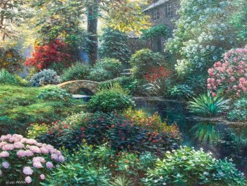 Corning Manor 30x40 Original Painting - Henry Peeters