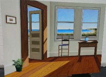 Cape Cod Room 36x48 Original Painting - Henry Peeters