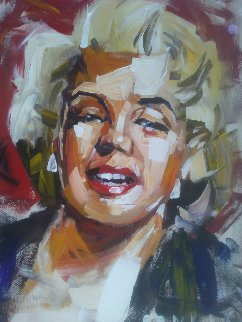 Marilyn 30x16 Original Painting - Steve Penley