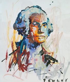 George Washington 2017 36x30 Works on Paper (not prints) - Steve Penley