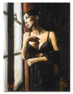 At the Window  Limited Edition Print - Fabian Perez