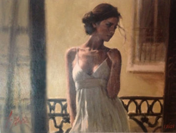 Balcony At  Buenos Aires XI 2006 Limited Edition Print - Fabian Perez
