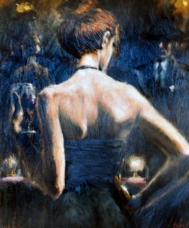 Girl With Red Hair Embellished  Limited Edition Print - Fabian Perez