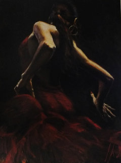 Dancer in Red 2010 Limited Edition Print - Fabian Perez