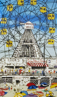 Wonder Wheel 1990 Limited Edition Print - Linnea Pergola