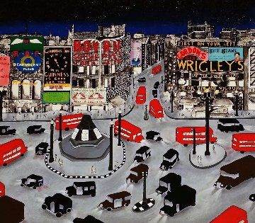 London 1943 Limited Edition Print - Linnea Pergola