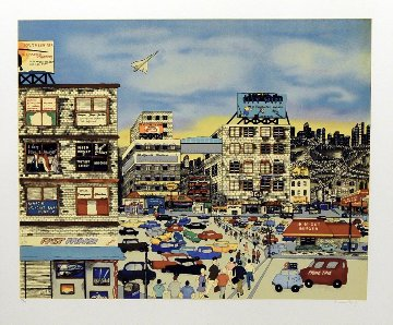 Urban Race 1990 Limited Edition Print - Linnea Pergola