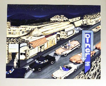 Cruise Night 1990 Limited Edition Print - Linnea Pergola
