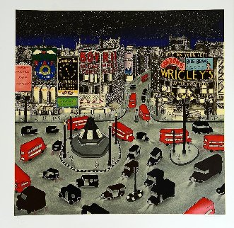 London 1943, Piccadilly Circus 1994 Limited Edition Print - Linnea Pergola