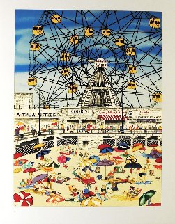 Wonder Wheel Limited Edition Print - Linnea Pergola