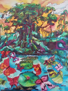 Butterfly Cove 2 Limited Edition Print - Linnea Pergola