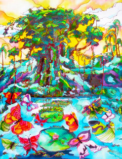 Butterfly Cove II 2009 Limited Edition Print - Linnea Pergola