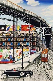 New York Nostalgia 1991 Limited Edition Print - Linnea Pergola