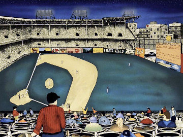 Old Ball Game 1990 Limited Edition Print - Linnea Pergola
