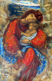 Mother and Child AP Limited Edition Print - Peter Nixon