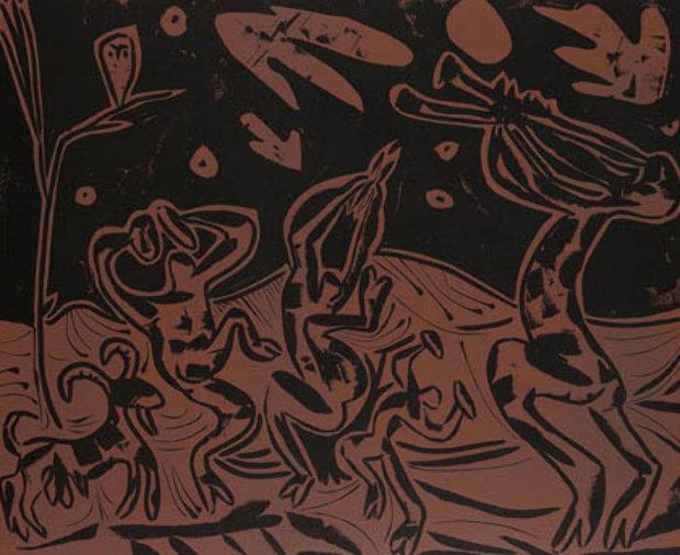 Nature morte a la fenetre 1982 by pablo picasso - Pablo picasso nature morte a la chaise cannee ...