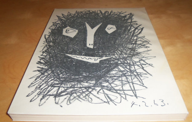 Picasso Lithographe IV Book With 2  Lithographs 1963