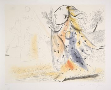 Minotaure Et Femme Limited Edition Print -  Picasso Estate Signed Editions
