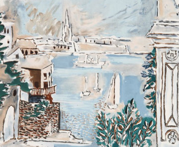 Passage De Dinard Limited Edition Print -  Picasso Estate Signed Editions