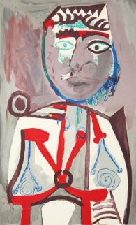 Personnage Limited Edition Print -  Picasso Estate Signed Editions