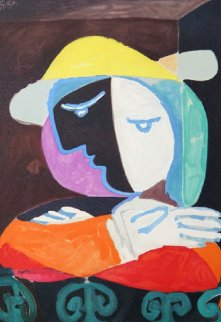 Femme Au Balcon Limited Edition Print -  Picasso Estate Signed Editions