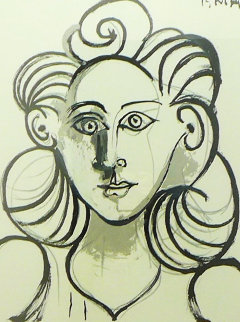 Portrait De Femme Limited Edition Print -  Picasso Estate Signed Editions