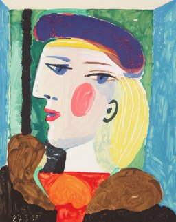 Femme Profile Limited Edition Print -  Picasso Estate Signed Editions